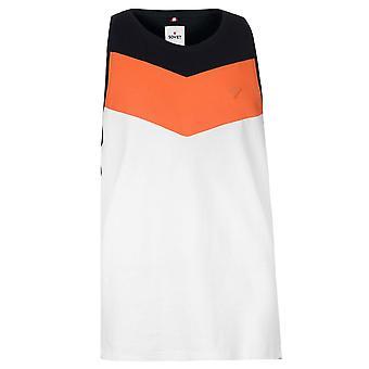 Soviet Mens Chest Stripe Vest Sleeveless Muscle Tank Top Tee T-Shirt T Shirt