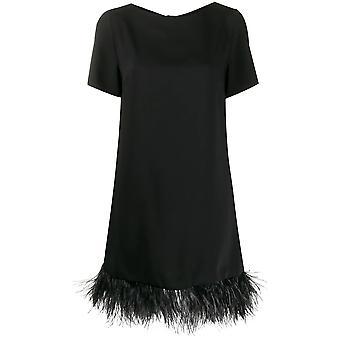 P.a.r.o.s.h. D731139p013 Women's Black Polyester Dress