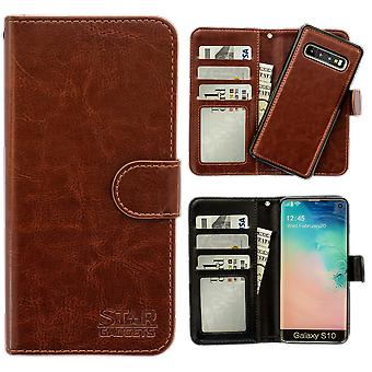 Samsung Galaxy S10-Leather Case/Cover