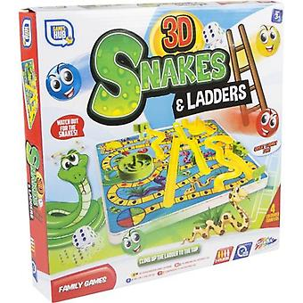 Grafix 3D Snakes And Ladders-bordspel