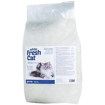 Gloria Pets Sand Binder Tuore Kissa Valkoinen (Kissat , Hoito ja hyvinvointi, Kissanhiekka)