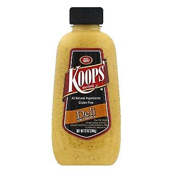 Koops Gluten Free Spicy Brown Deli Senf