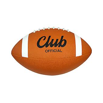 Midwest Club Rubber American Football Ball Tan Official Size