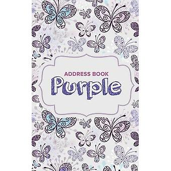 Address Book Purple by Us & Journals R