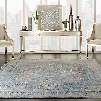 Starry Nights STN06 Cream Blue  Rectangle Rugs Traditional Rugs