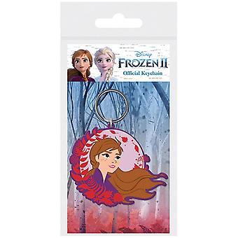 Bevroren Frost 2 Anna Rubber Sleutelhanger