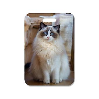 Cat Ragdoll Large Bag Pendant