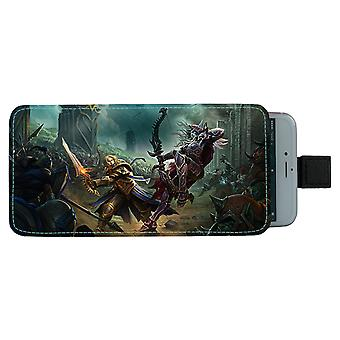 WOW Battle For Azeroth Pull-up Mobile Bag