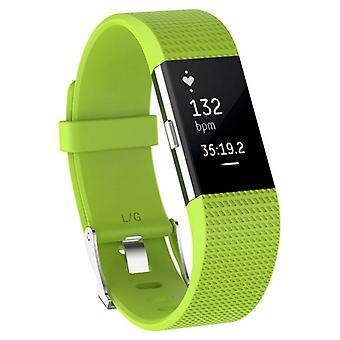 Sport Armband Till Fitbit Charge 2 - Lime