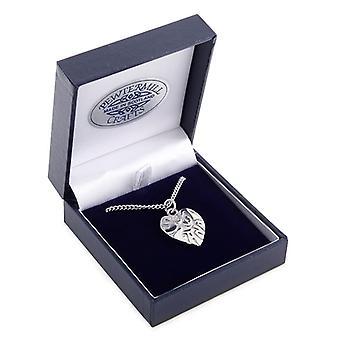 Scotland Love Heart Shaped Pendant - SP98