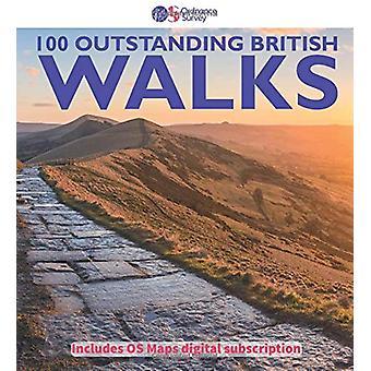 100 Enastående brittiska promenader - 2018 - 9780319090862 Bok