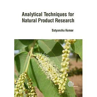 Analytische technieken voor natural product research door Satyanshu Kumar