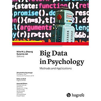 Big Data in Psychology - Methods and Applications - 2018 - 226 by Mike L