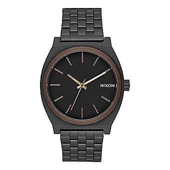 Nixon Mens Quartz analog watch with stainless steel band A045-2786-00