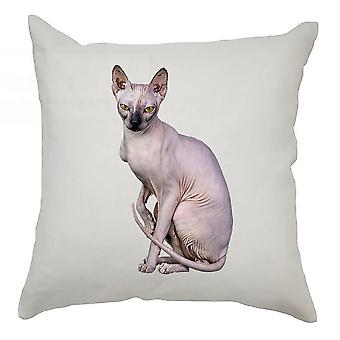 Animal Cushion Cover 40cm x 40cm Sphynx Cat