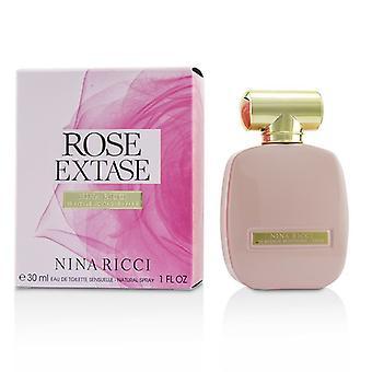 Nina Ricci Rose Extase Eau De Toilette Sensuelle Spray 30ml/1oz