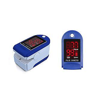 Fingertip Pulse Oximeter Blue - 3 Pack