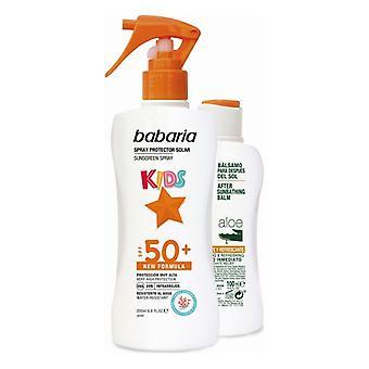 Güneş Koruma Seti Kids Babaria Spf 50+ (2 adet)