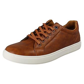 Mens Reflex Casual Lace Up Schoenen