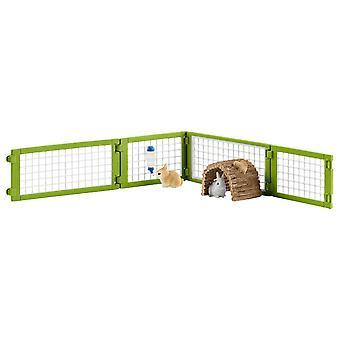Clapier à lapins Schleich 42420
