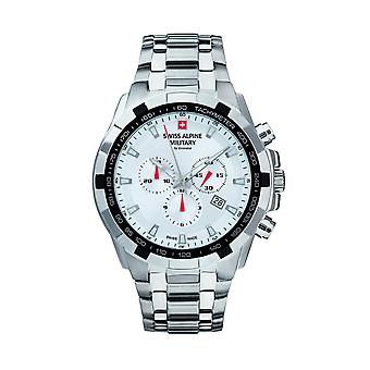 Swiss Alpine Military By Grovana 7043.9132SAM Mens Watch - White