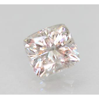 Certified 1.65 Carat F VS2 Cushion Enhanced Natural Loose Diamond 6.94x6.6mm 2VG