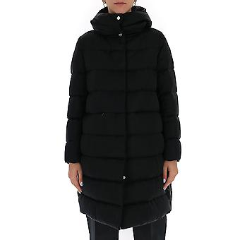 Herno Pi058dr123489300 Women's Black Nylon Down Jacket