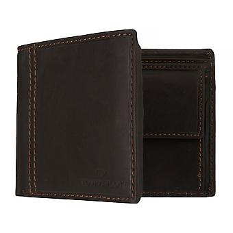 TOM TAILOR BEN mens wallet wallet purse with RFID protection Brown 7648
