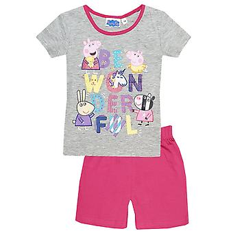 Peppa pig girls pyjama set ppi2141pyj