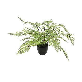Faux Small Potted Fern 35 Cm