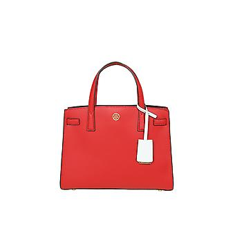 Tory Burch 73625610 Women's Red Leather Handbag