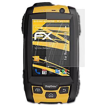atFoliX Verre film protecteur compatible avec RugGear RG500 9H Hybride-Verre