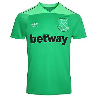 2020-2021 West Ham Home Goalkeeper Shirt