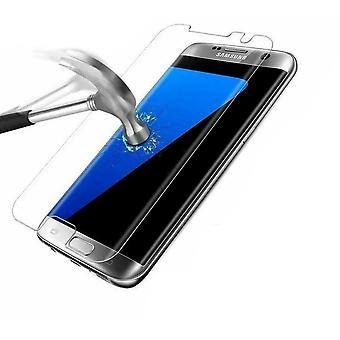 Curved 9H Tempered Glass Full Screen Protector - For Samsung Galaxy S7 Edge
