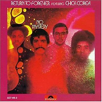 Return to Forever - No Mystery [CD] USA import