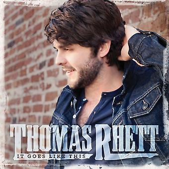 Thomas Rhett - It Goes Like This [CD] USA import