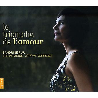 Rebel/Francoeur/Rameau/Lully/Campra/Rebel/Charpent - Le Triomphe De L'Amour [CD] USA import