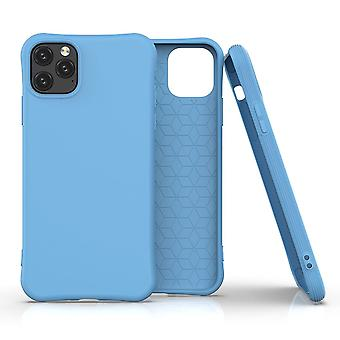 For iPhone 11 Pro Max Case Solid Slim Case Protective Cover Blue