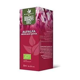 Alfafa bio - glycerine maceraat van gekiemde zaden 30 ml