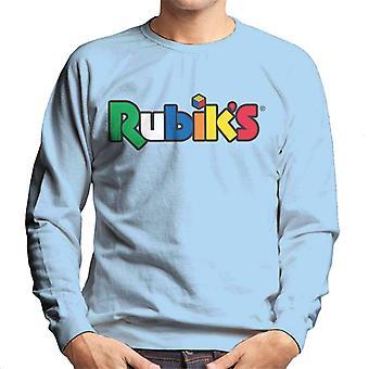 Rubik ' s Classic logo heren ' s Sweatshirt