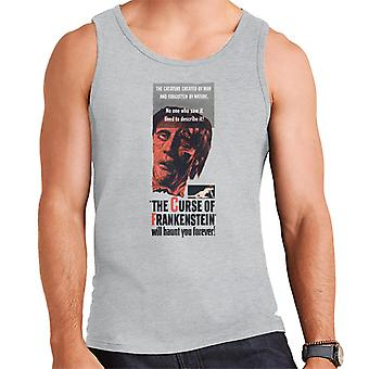 Hammer Horrorfilme Frankenstein wird Sie für immer Männer's Weste verfolgen