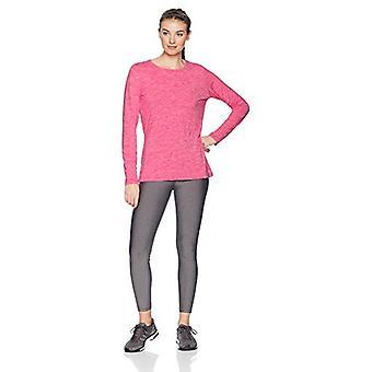 Essentials Women's Tech Stretch Long-Sleeve T-Shirt, Radiant Raspberry Heather, XX-Large