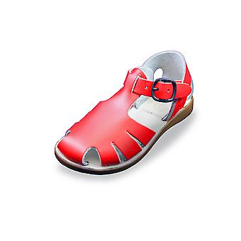 Samphire celso red waterproof closed toe sandals