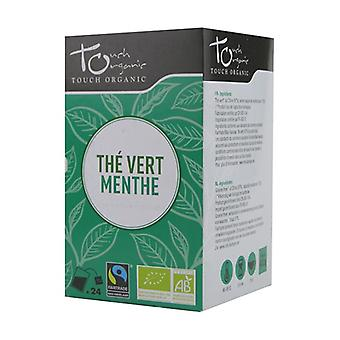 Organic green tea with mint 24 packets