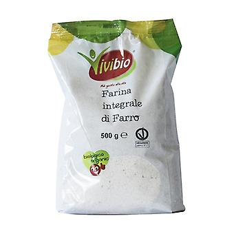 Whole spelled flour 500 g of powder