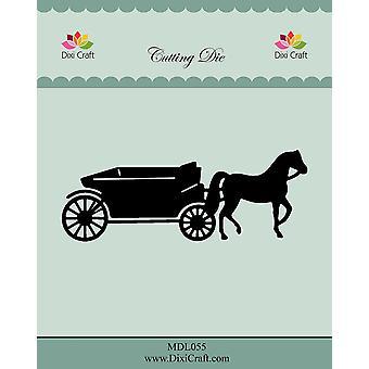 Dixi Craft Horse Wagon Dies
