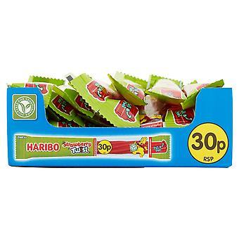 Haribo Strawberry Twist Stixx, bulk sweets, 30 packs of 25g