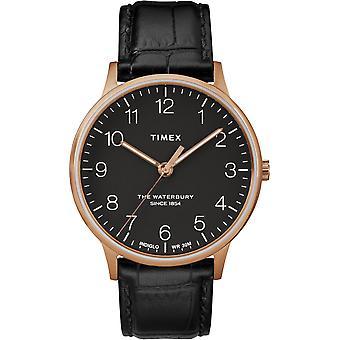 TW2R96000, Waterbury Timex Style Herrenuhr / Schwarz
