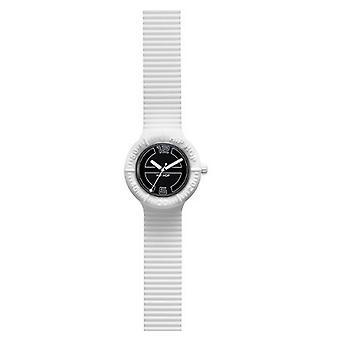 Hip Hop clock watch silicone Large vanilla / sw HWU0113