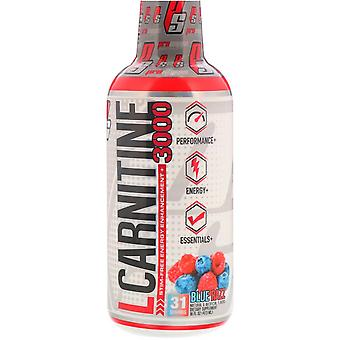 ProSupps, L-Carnitine 3000, Blue Razz, 16 fl oz (473 ml)